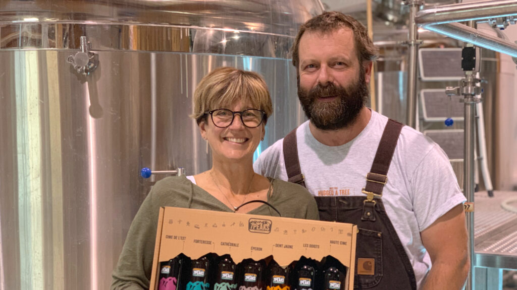 7PEAKS Brasse des bières de qualité directement inspirées des montagnes qui alentours de manière artisanale, locale et durable.